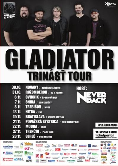 TOUR SKUPINY GLADIATOR S NOVÝM CD 13 SA - Katalóg firiem  4c740ff68f3
