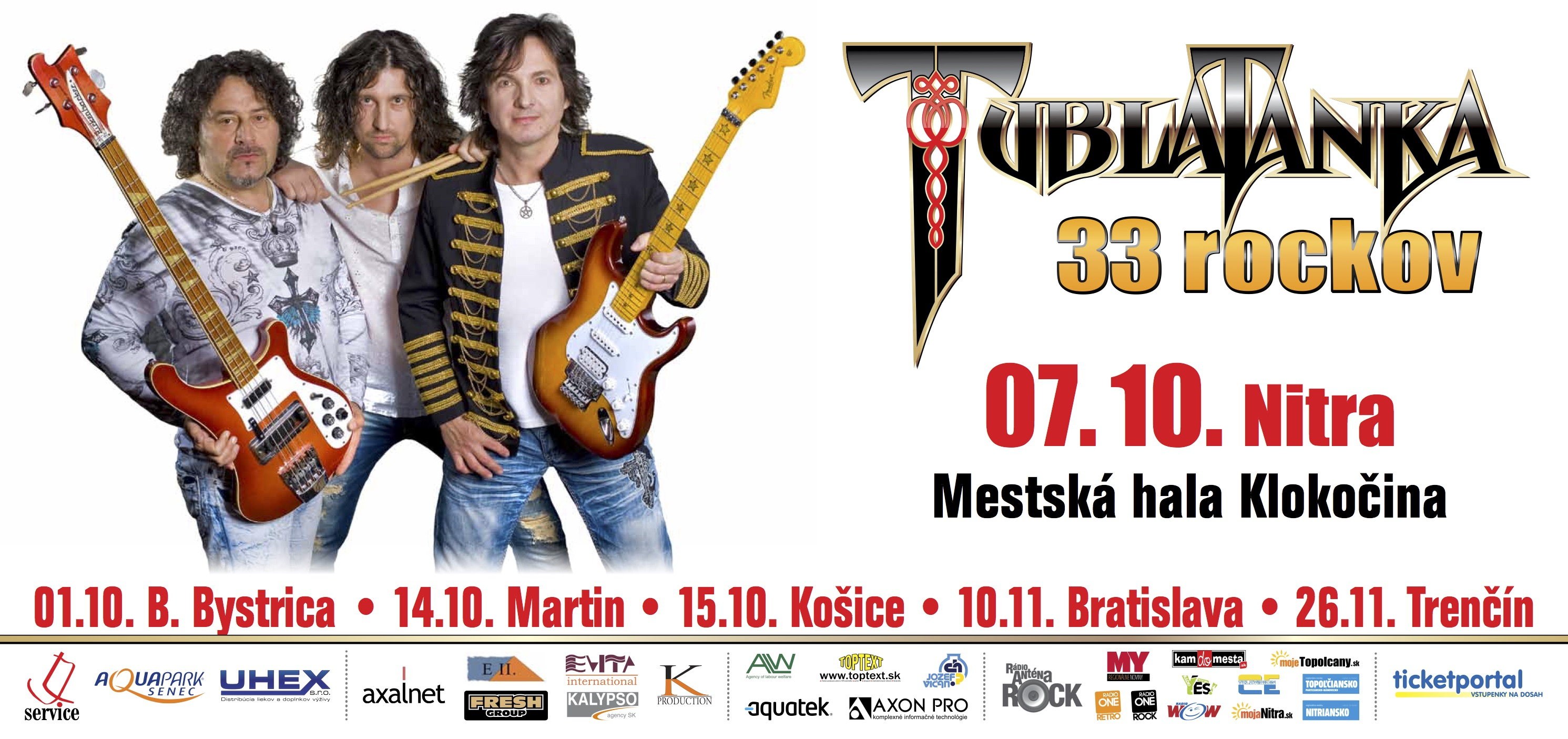 TUBLATANKA 33 rockov - oslavovať sa bude a - Kam v meste  79dab81fa6f