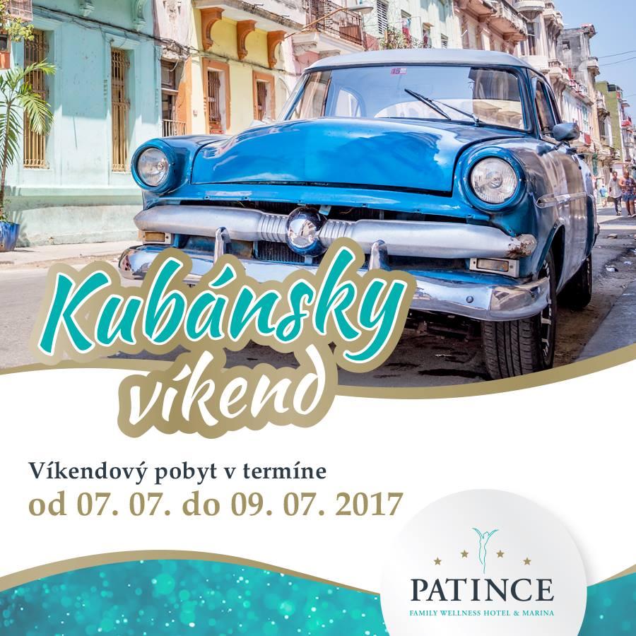 118d1d30a Horúce rytmy, gastronómia ako z raja, a nefalšovaná kubánska atmosféra Vás  čaká vo Wellness Hoteli Patince**** od 07. 07. do 09. 07. 2017!
